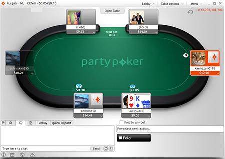 Partypoker Pokerangebot