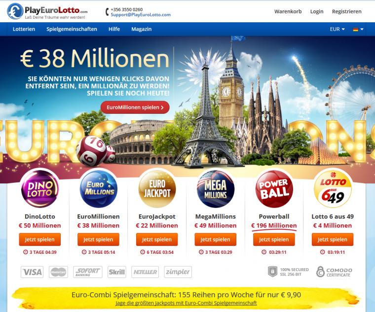 Play Euro Lotto