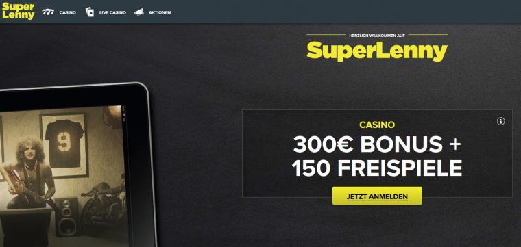 SuperLenny Webauftritt
