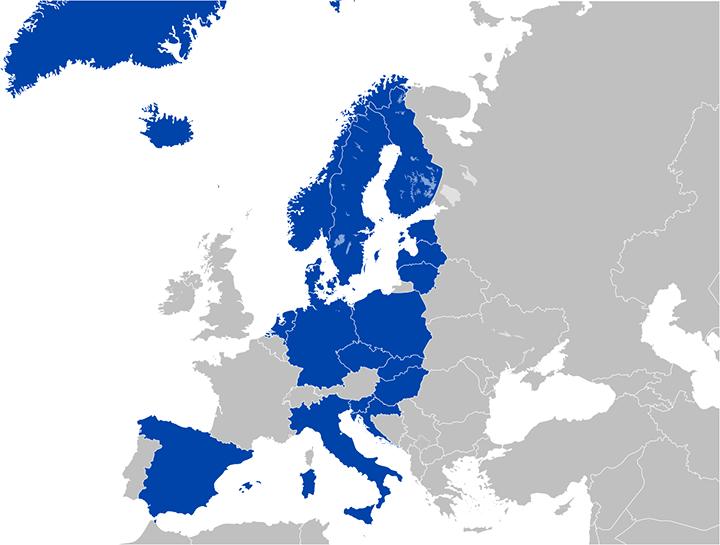 Eurojackpot Teilnehmerländer
