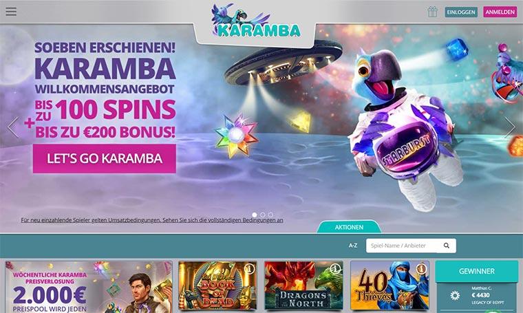 Karamba Webauftritt