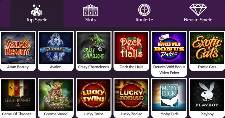 Mummys Gold Casino Spielangebot