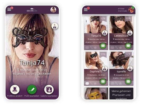 Secret.de App
