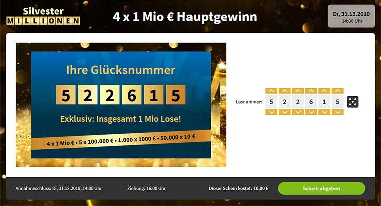 Silvester Millionen Lottohelden