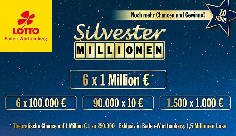Silvester Millionen Gewinner
