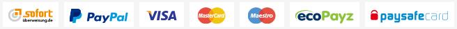 Wunderino Zahlungsmethoden
